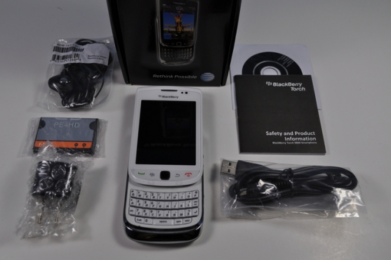 Blackberry Torch 9800 **touch and slide** new in box TO SELL OR SWOP