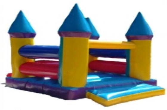 2 jumping castels 1 water slide