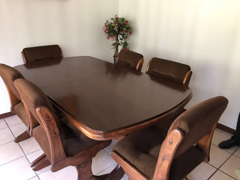 Wood Dining Room Suite For Sale