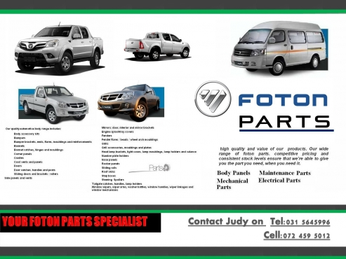 Foton Inkunzi In Car Spares And Parts In South Africa Junk Mail