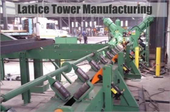 Towerco. Civil Design, Manufacturing, Export of Lattice Towers, Monopoles, Gauteng,