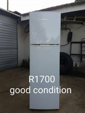 Hisense fridge for sale,