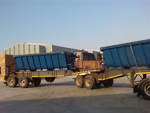 We got loads available for 34 ton side tipper truck and trailer.