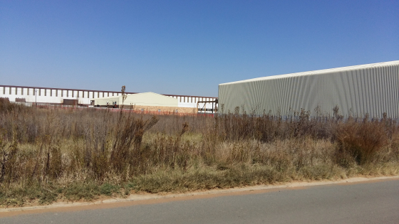 STAND FOR SALE, NALEDI INDUSTRIAL PARK, SASOLBURG