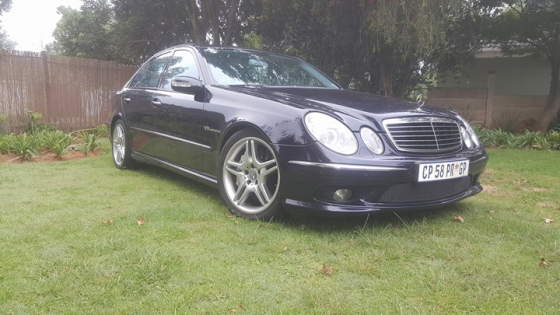 e55 amg in mercedes benz in south africa junk mail. Black Bedroom Furniture Sets. Home Design Ideas