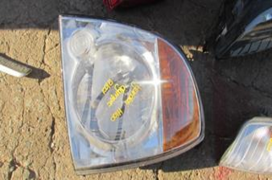 2012 Hyundai H100 Left Headlight For Sale