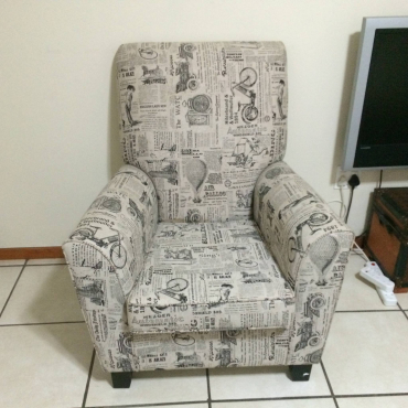 wingback chair in all ads in pretoria junk mail