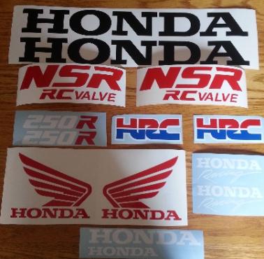 1988 honda NSR 250R decals stickers graphics kit