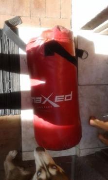 Red Maxed punching bag