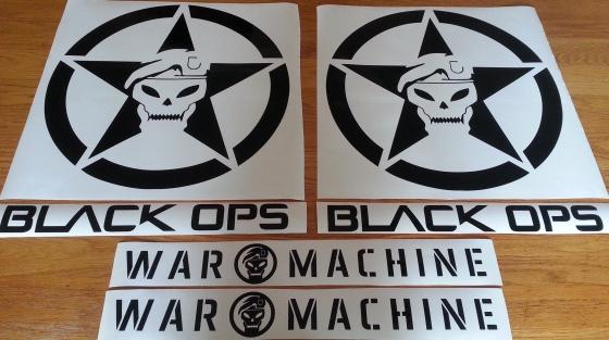 VW Amarok decals stickers graphics sets