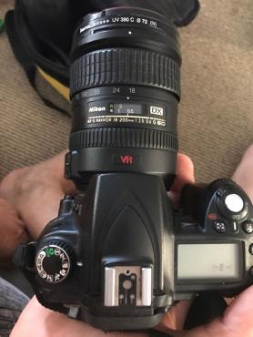 Nikon D90 camera with profession VR lense