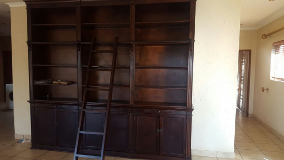 Solid Mahogany wall unit for sale: | Junk Mail