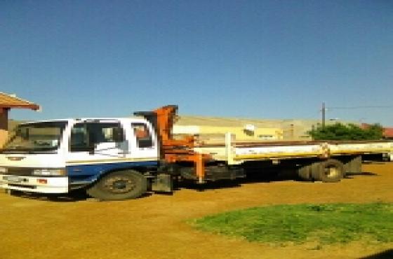 hino 7ton crane truck