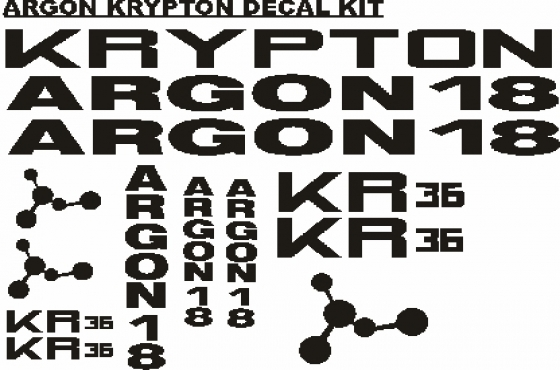 e432348bd Argon 18 frame and wheel rim decals stickers graphics kits