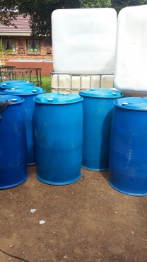 210 Liter Blowpac Plastic Drums