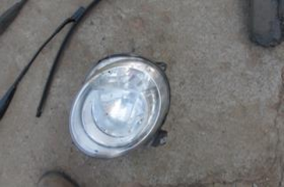 2015 Fiat 500 Left Headlight For Sale