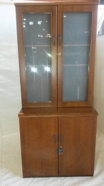 glass door wall unit