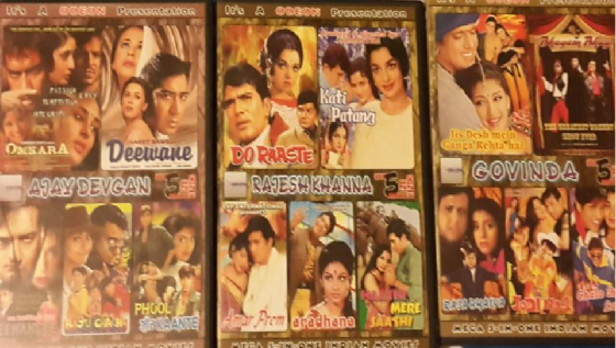 Indian Dvd movies from 2 in 1 to 5 in 1