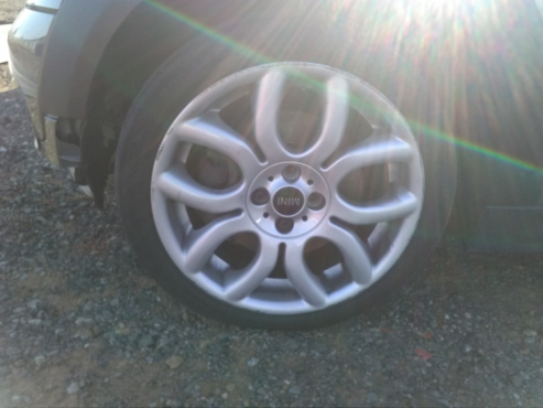 Mini Cooper S R56 Tyres And Rims Junk Mail