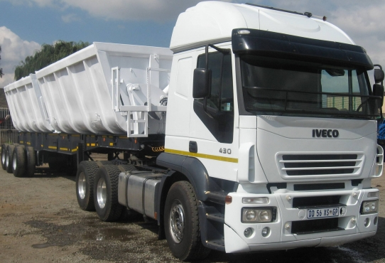 Truck and 34 Ton Side Tipper Trailers for great offers