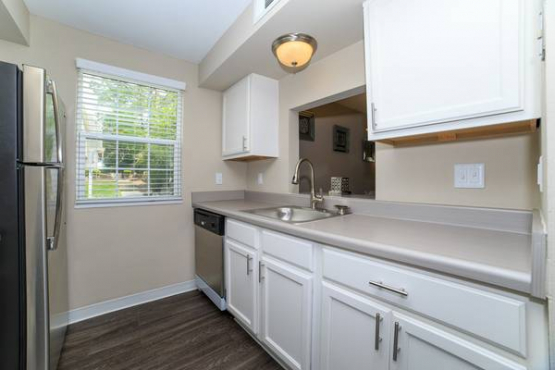 Great location and lots of closet space!! Dishwasher