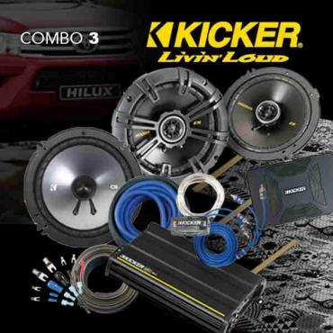 Kicker Bakkie Combo