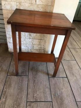 Oak side table for sale
