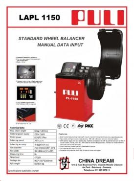 Launch Technologies new Wheel balancing machines