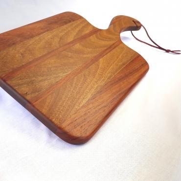 African Walnut & Kiaat Edge Grain Paddle Board (465mm x 250mm x 20mm)
