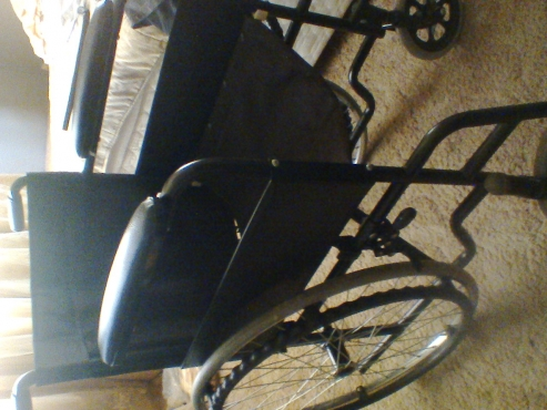 Few weeks old 14'' wheelchair
