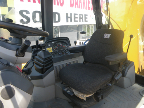 2014 yellow Caterpillar back hoe loader 428F for sale at Approved Auto