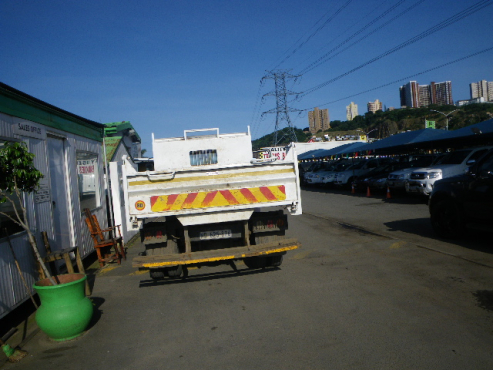 2010  white  HIno 300 915 LWEB 4x4 tipper truck   for sale at Approved Auto