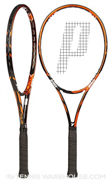 X2 Prince Tour 100 (16x18) Racquets (R1000 for both)