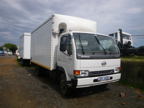 2014 white Nissan UD truck for sale at Approved Auto