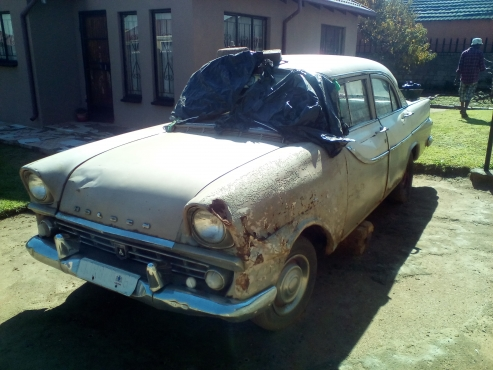 1960 Semi Project  Holden Special Sport