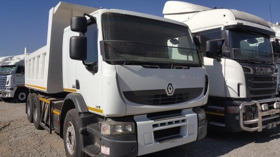 2012 Renault Premium Lander 26.380 10m3 Rigid Tipper Body Truck