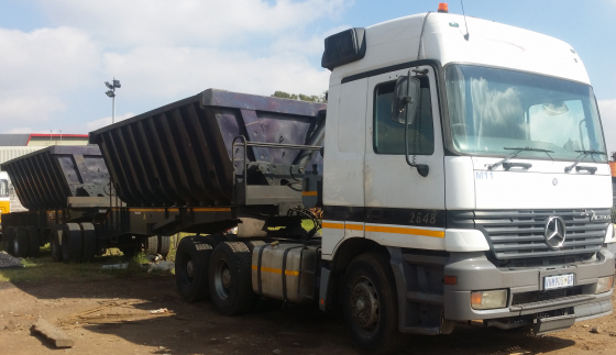 Side Tipper Trailers and Trucks on great deals