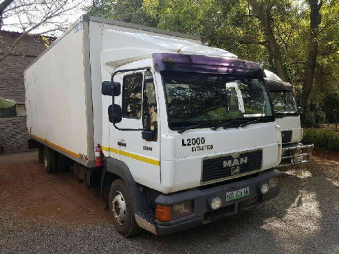 1999 MAN 12-153 truck for sale