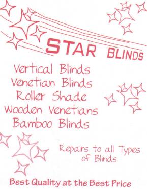 Blinds, Awnings, Folding Doors
