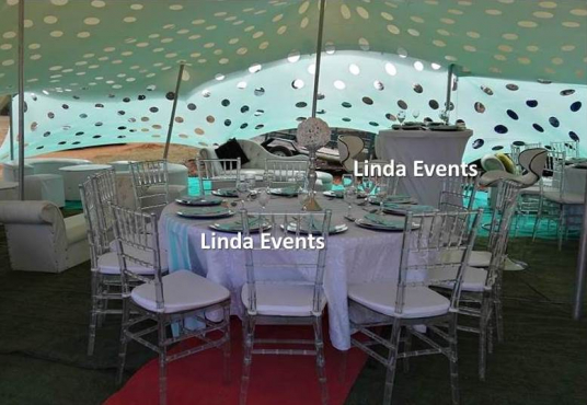 Lounge setup stretch tent cocktail chairs tables for Cocktail tables johannesburg