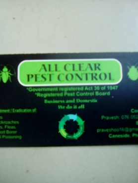 Certified Pest control-R200