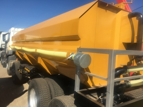 WATER TANKERS MANUFACTURING AND COMPLETE HYDRAULIC SYSTEM
