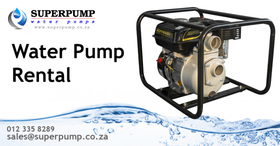 water pump hire | Junk Mail