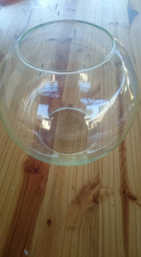 Glass fish bowl for sale