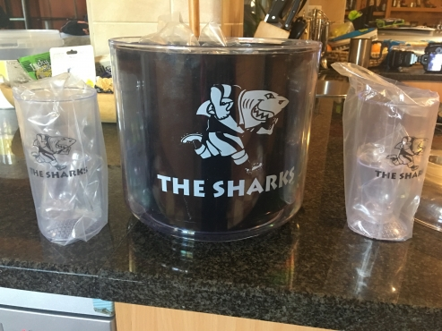 Sharks Ice Bucket