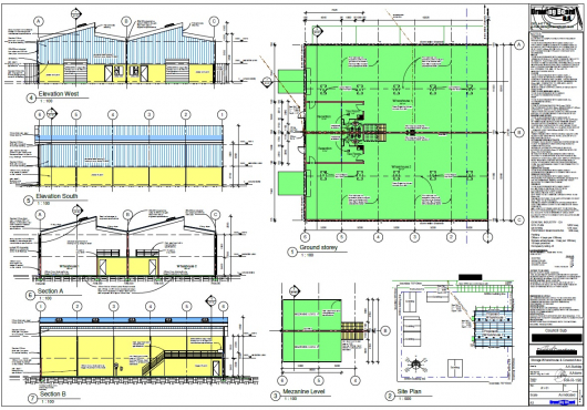 Building Plans Drawn up and Submitted to Council
