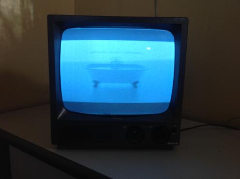 Samsung brand new 80 cm flat screen tv plus 30 cm black and