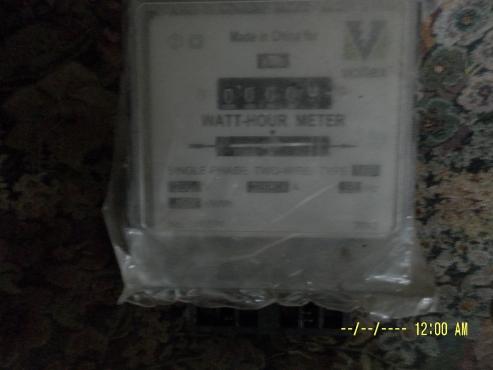 Meter:Watt hour: Voltex make
