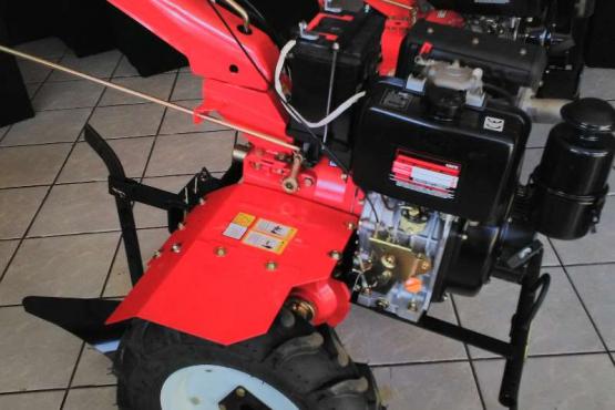 Diesel Tiller With Electric Start