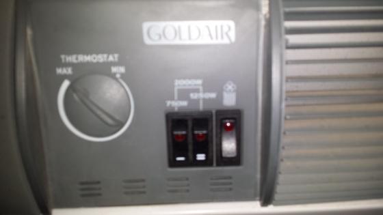 2000 watt Convection Heater with fan
